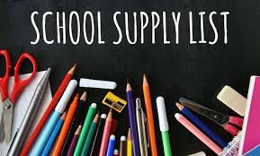 2020-2021 Student Supply List
