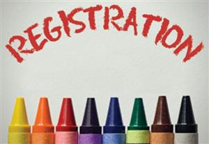 Registration with crayons