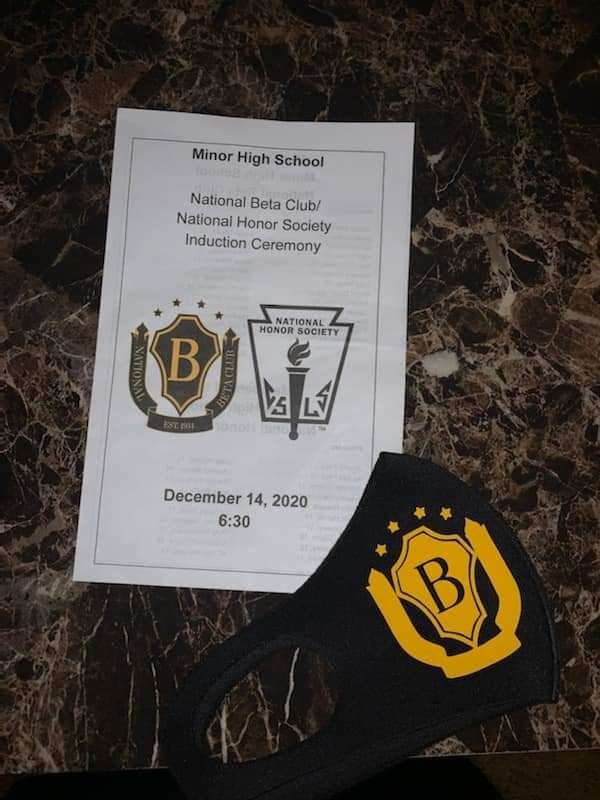 Congratulations to the Class of 2020 Beta Club and National Honor Society...Over 50 Students inducted!
