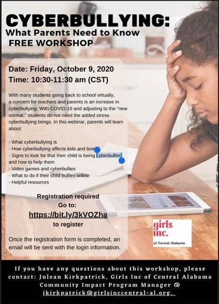 Cyberbullying Parent Workshop