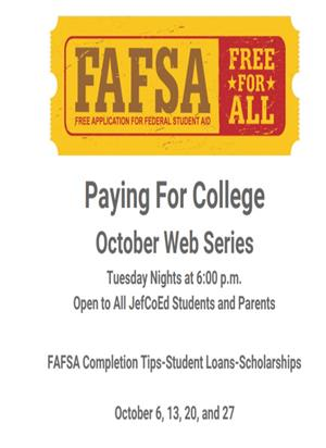 FAFSA Paying for College